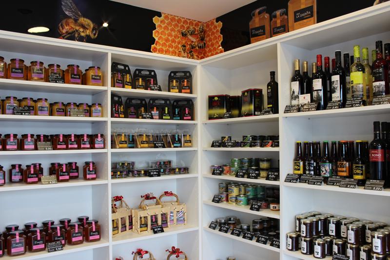 Tiendas de productos delicatessen y artesanales
