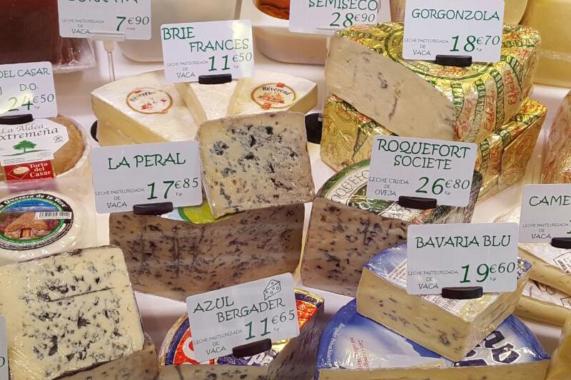 etiquetado quesos tomas alvaro