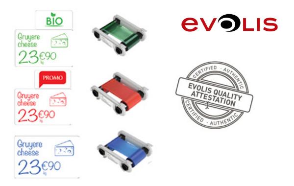 3new consumibles EVOLIS
