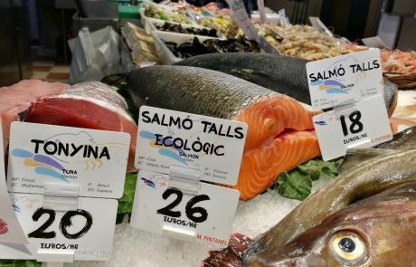 etiquetado de precios pescaderías y marisquerías Edikio