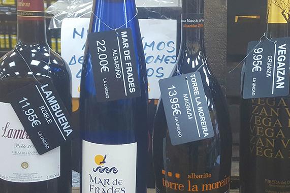 Solución Edikio vinoteca y licorería
